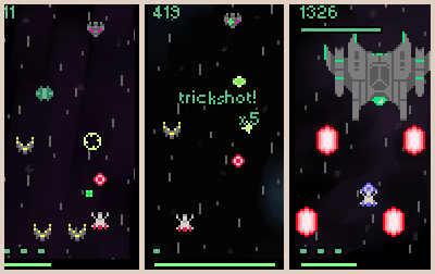 Space Shooter Ship Arcade-style Space Shooter